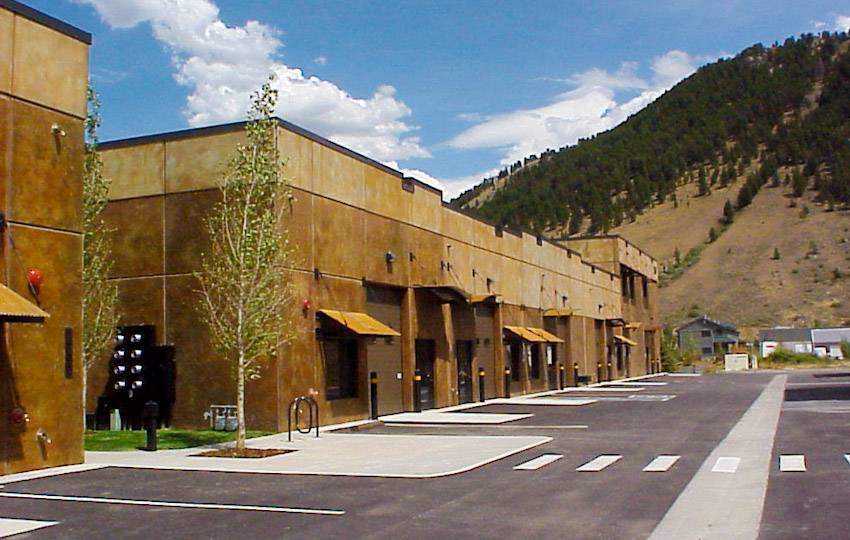 Flat Creek Business Park, Jackson, Wyoming